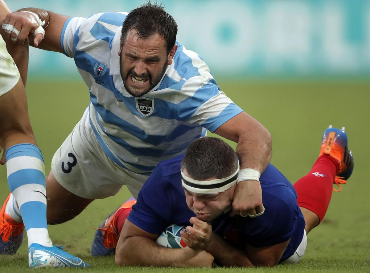 France 23 - 21 Argentina