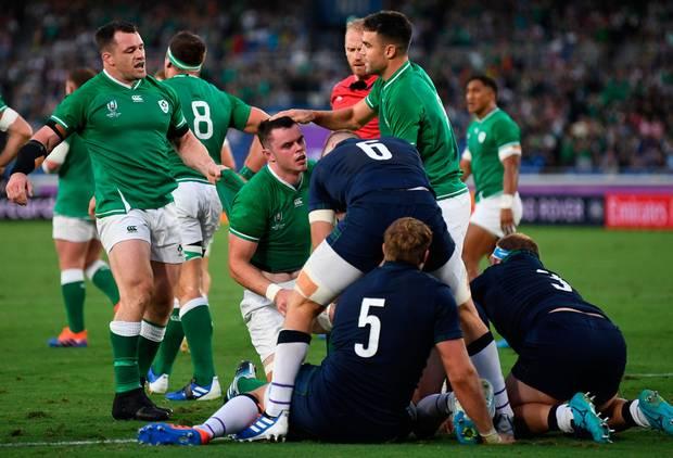 Ireland 27 – 3 Scotland