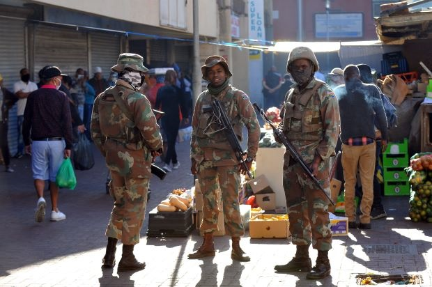 South Africa's military to be redesigned for the 21st Century